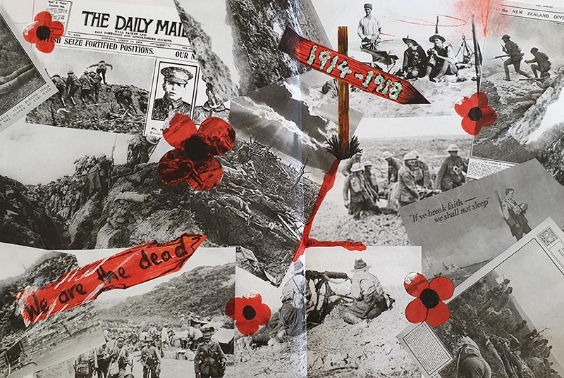 Catherine Parry - WW1 Collage