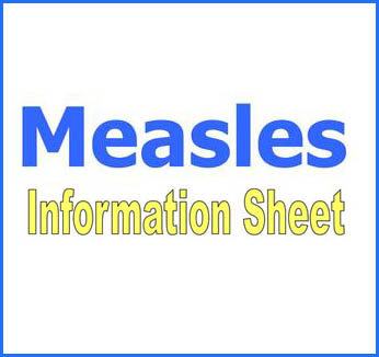 Measles Information Sheet